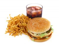 eating the equivalent of a single fast food meal can have significant negative effects on your metabolism. (wikimedia)