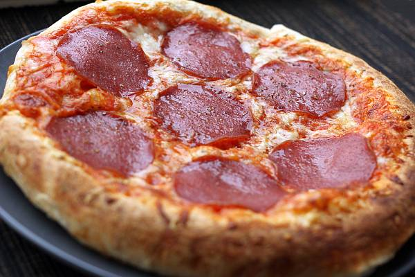 A meal consisting of two salami pizzas can mess up your metabolism.