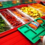 Researchers at Brigham Young University has found out that good, old-fashioned marketing works to get more kids to eat at school salad bars. (wikimedia)