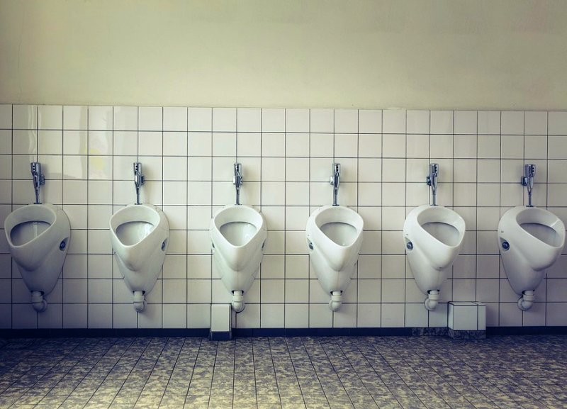 Nasty, Germ-Filled Air Droplets Produced From Flushing Public Toilets